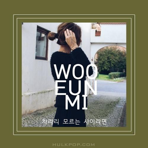 Woo Eun Mi – 차라리 모르는 사이라면 – Single
