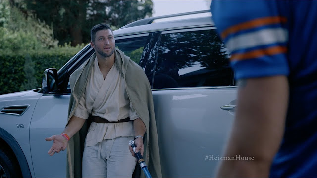 Nissan Gets Former Nfl Star Tim Tebow To Poke Fun Of His