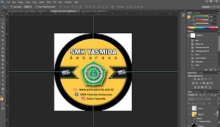 Cara Desain Gantungan Kunci Keren Dengan Adobe Photoshop