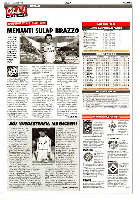 HAMBURGER SV VS VFB STUTTGART BRAZZO HASAN HALIHAMIDZIC