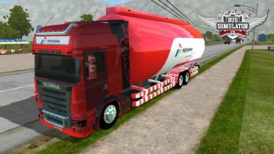 Mod Truck Tangki Scania