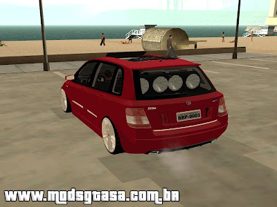 Fiat Stilo Dualogic Edit para GTA San Andreas