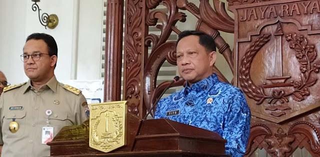 Tito Ingatkan Kepala Daerah Bisa Dicopot Abaikan Protokol Kesehatan