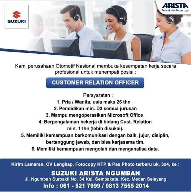 Rekrutmen Lowongan Kerja Medan D3 Semua Jurusan Desember 2019