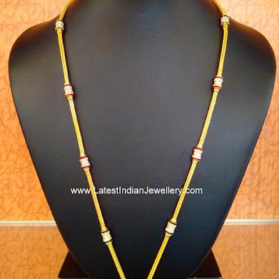 Thali Chains with Spiral Mogappu