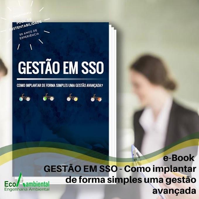 e-Book GESTÃO EM SSO - Como implantar de forma simples uma gestão avançada