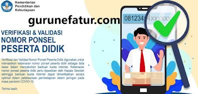 SEGERA Verifikasi dan Validasi ! Input Nomor Ponsel Sebelum 28 Agustus 2021