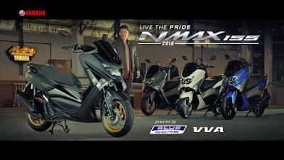 Iklan TV Baru untuk NMAX 155 Model 2018