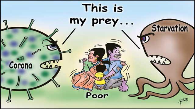 Newsreaders, News Readers, Cartoon Cartoon, Cartoon Drawing, Cartoon Picture, Coronavirus Cartoon, Corona Cartoon, Coronavirus and Starvation