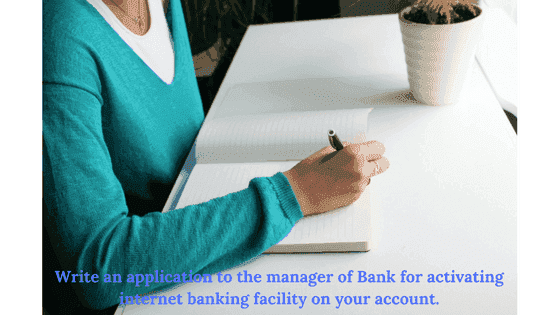 Letter to Bank Manager