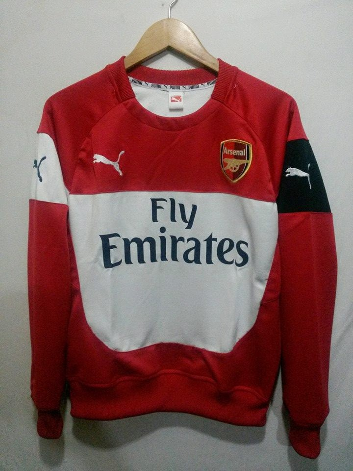Sweater+Training+Arsenal+Red-White+Puma+