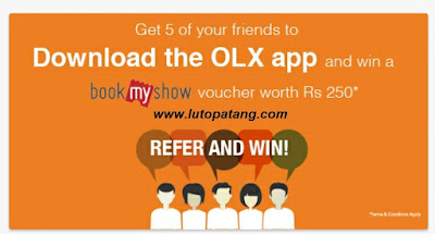 OLX Refer And Earn,Refer And Earn