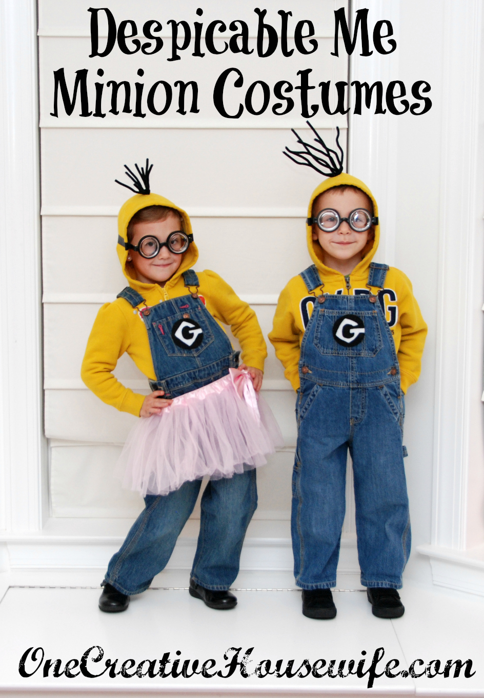Creative Halloween Makeup Ideas A Subtle Revelry: One Creative Housewife: Despicable Me Minion Costumes