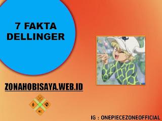 7 Fakta Dellinger One Piece
