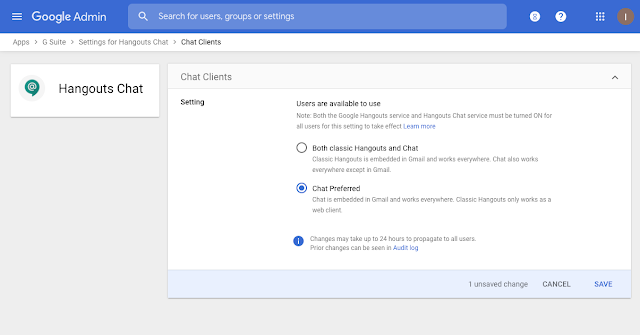 Migrate your users from classic Hangouts to Google Chat, now available in Gmail 2