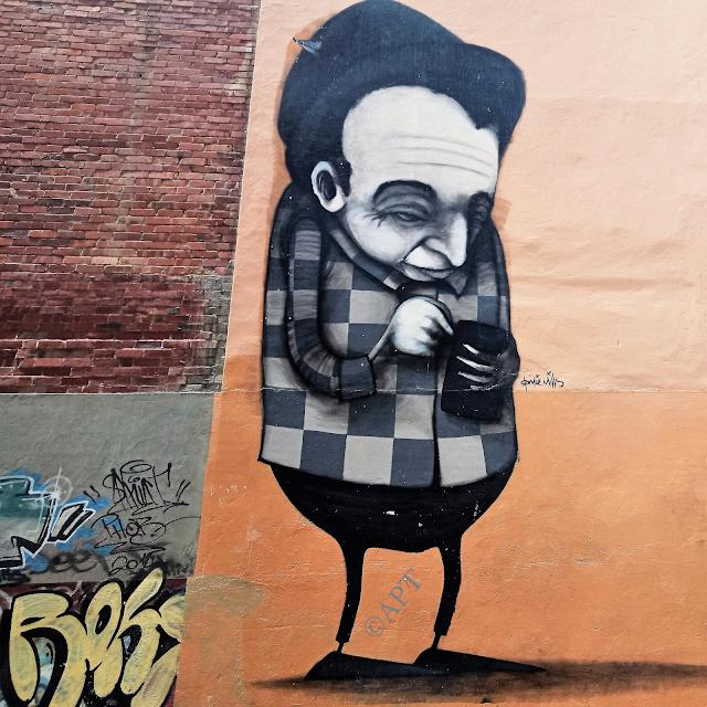 Hobart Public Art   Street Art by Stormie Mills