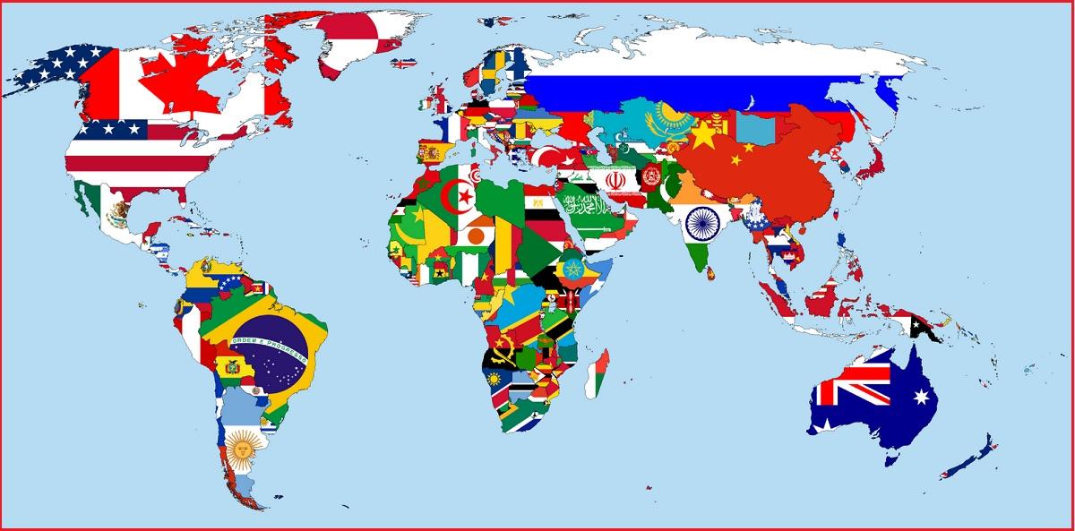 Peta Negara di Dunia