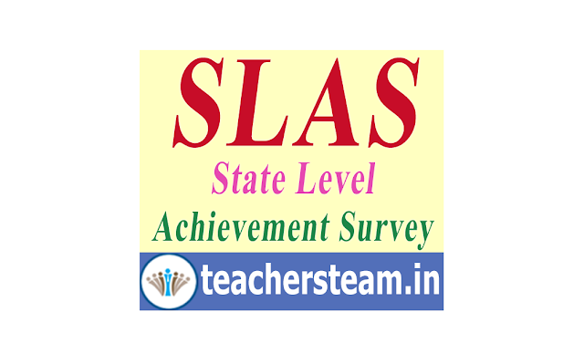 State Learning Achievement Survey (SLAS) in Telangana Government  School Students