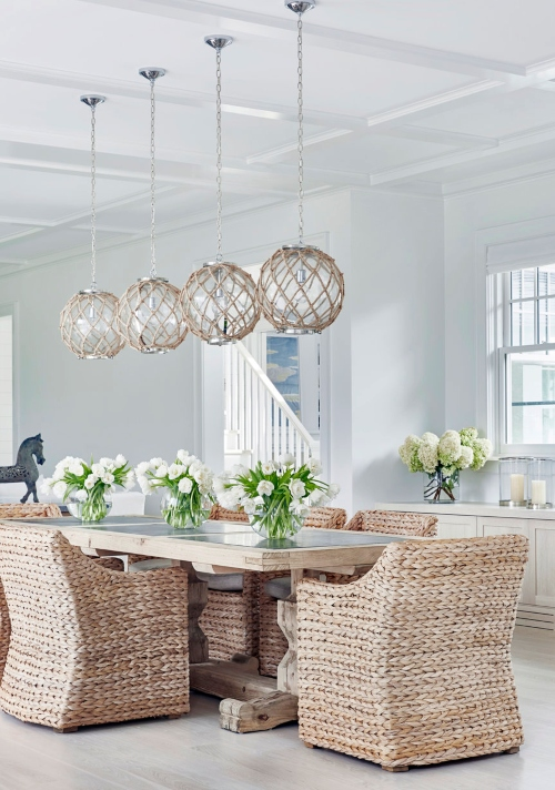 Coastal Nautical Ceiling Lighting Ideas