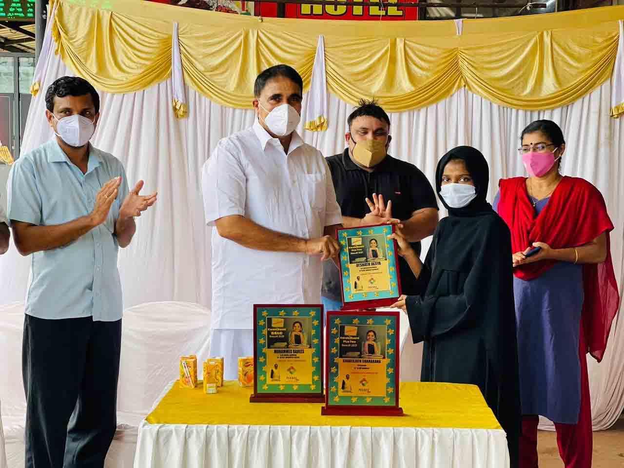 Kerala, Kasaragod, News, Felicitated, SSLC, PLUS TWO, Top winners appreciated by PB Charitable Trust.
