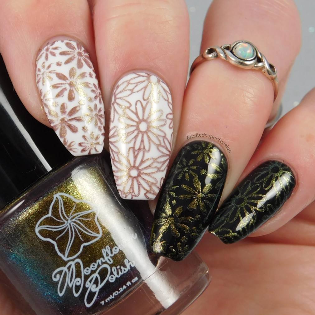 B Nailed To Perfection: Moonflower stamping polishes - Nail-Artisan ...