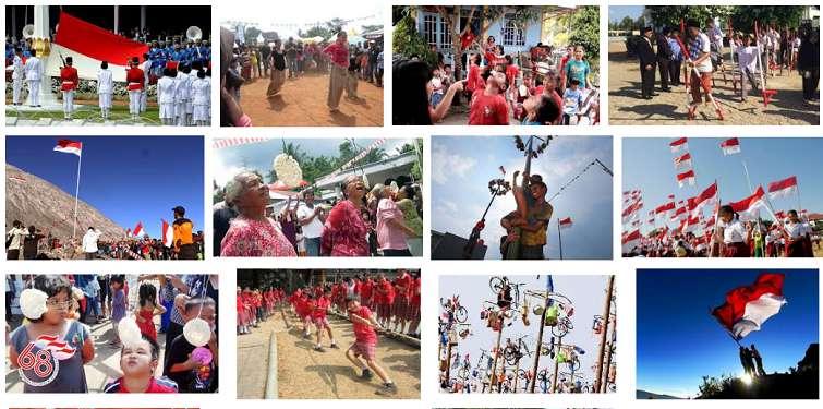 perayaan 17 agustus, hari kemerdekaan, lomba 17 agustus, hut ri