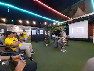 talkshow fotografi diafragma umi makassar 2019