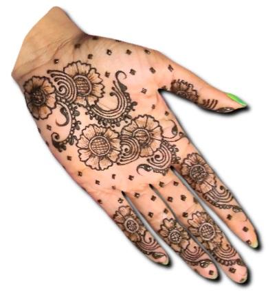 Simple Mehndi Design Indian