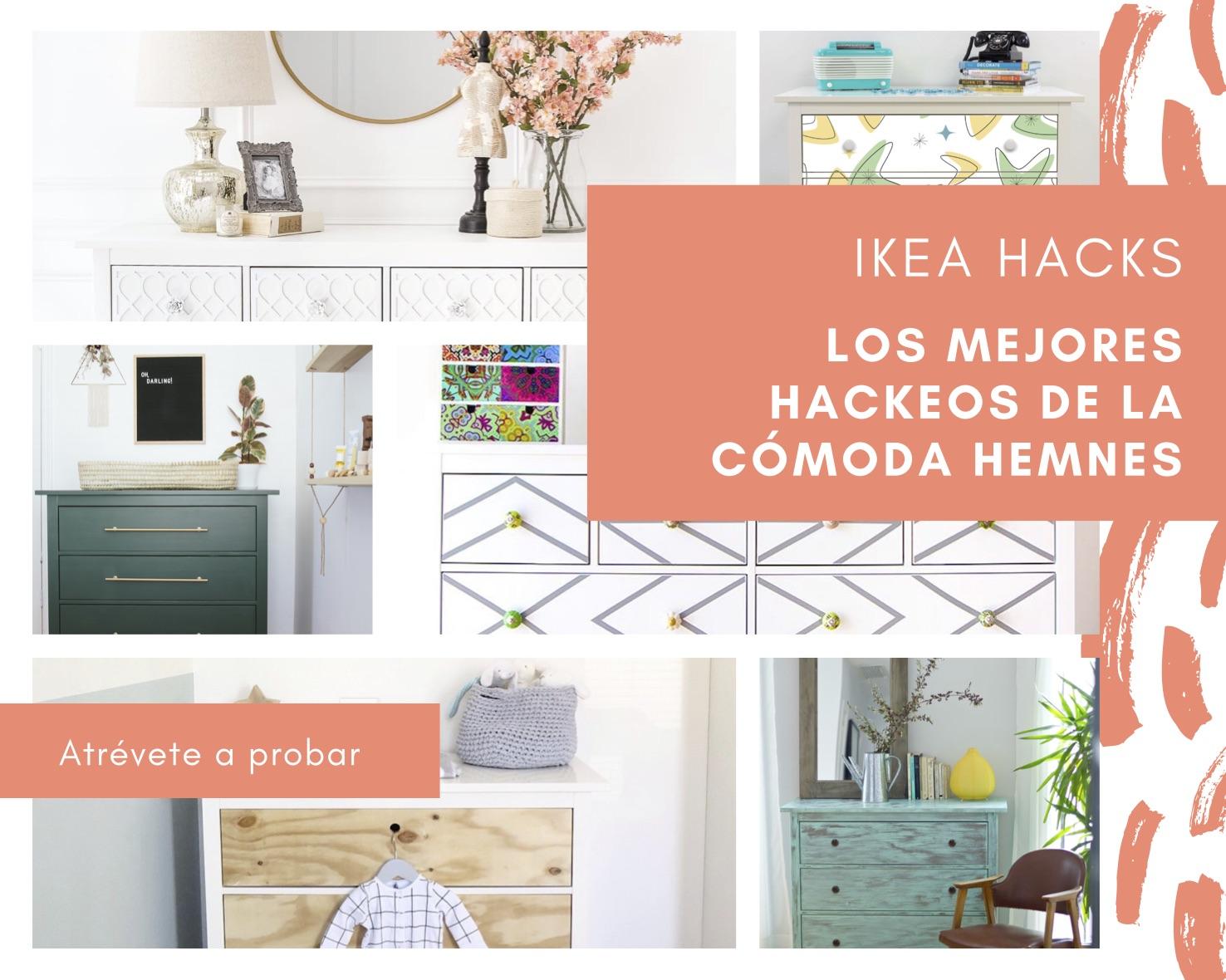 Los mejores hacks de IKEA para la cómoda HEMNES