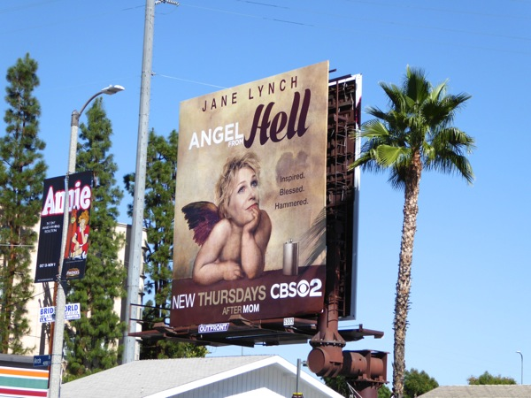 Jane Lynch Angel from Hell season 1 billboard