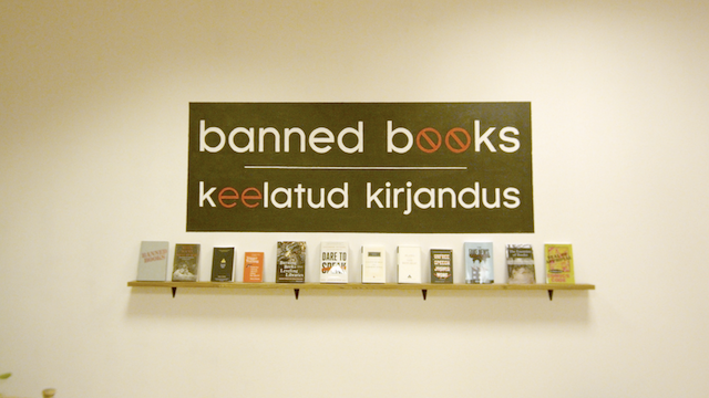 Banned Books Museum opens in Estonia