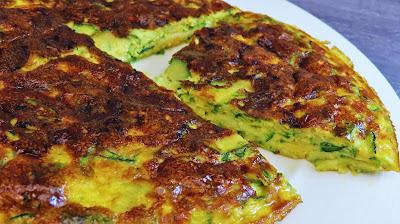 Omlet s Tikvicama - Jednostavno i Brzo   Zucchini Omelette - Quick and Simple