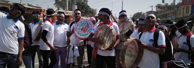 मिनापद्धारा होली महोत्सव शुरु, होलीमय जनकपुर