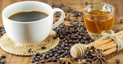 عسل + ملعقة قهوة