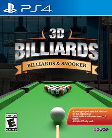 3D Billiards Billards & Snooker PS4 [PKG] Oyun İndir [Multi]