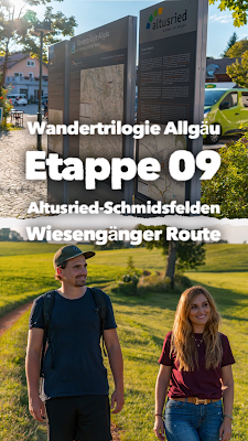 Wandertrilogie Allgäu  Etappe 09 Altusried-Schmidsfelden - Wiesengänger Route 22