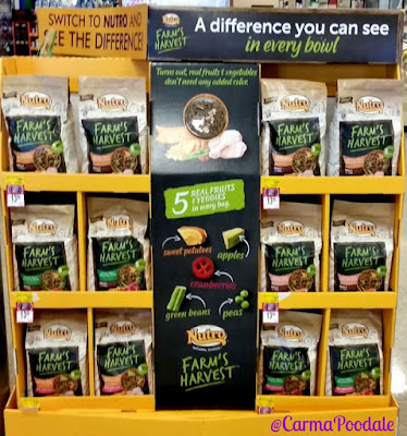 Farm's Harvest dog food at PetSmart