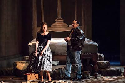 Gounod: Faust - Chloé Chaume, Stefano Secco - Opéra de Nice (Photo Dominique Jaussein)