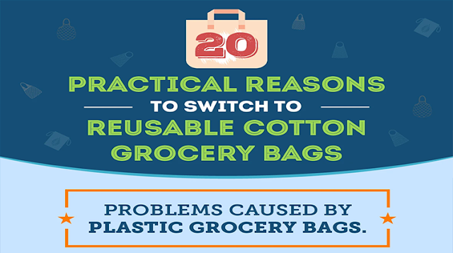 20 Practical Reasons To Switch To Reusable Cotton Grocery Bags