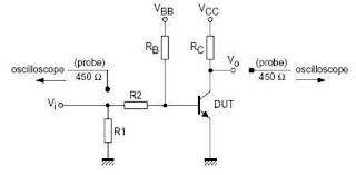 Philips 2N2222 NPN Switching Transistors Datasheet and Circuit for Switching Times