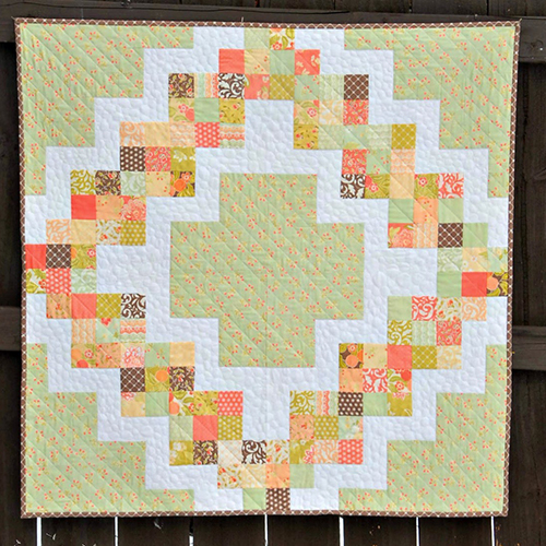 Candy Circle Quilt free Tutorial
