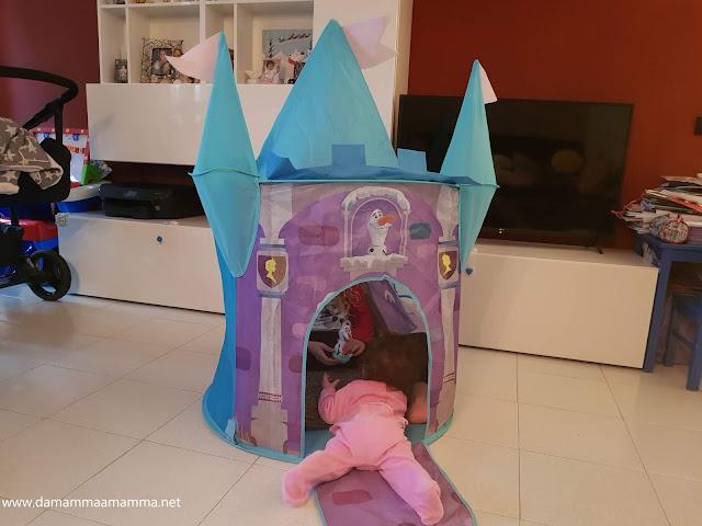 tenda castello Frozen 2