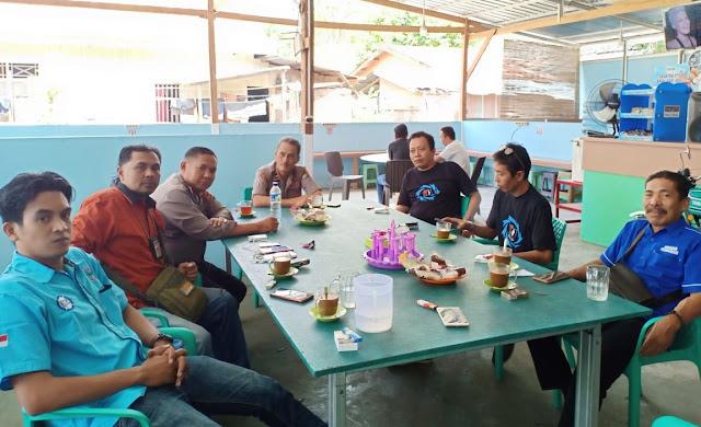 Kanit Reg Ident, Sat Lantas Polres Kepulauan Selayar, Silaturahmi dengan  IJAS