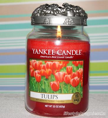 Yankee Candle Tulips - zapach prawdziwego tulipana?