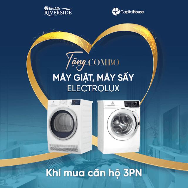 Máy giặt, máy sấy Elextrolux