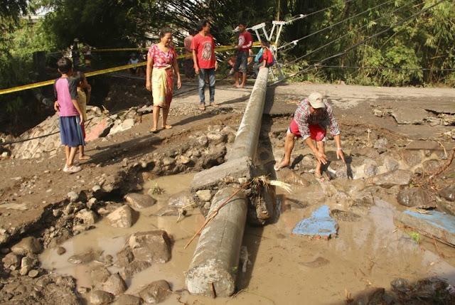 Banjir Lombok Timur 2017