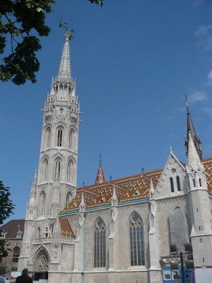 chiesa San Mattia a Budapest