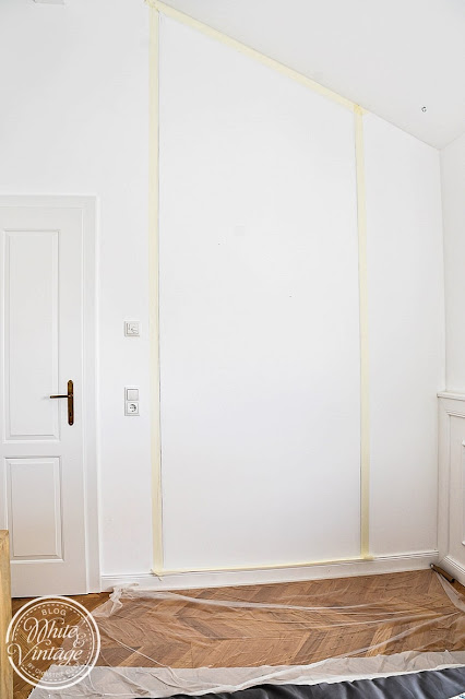 Richtiges Abkleben beim Malen von Wänden.