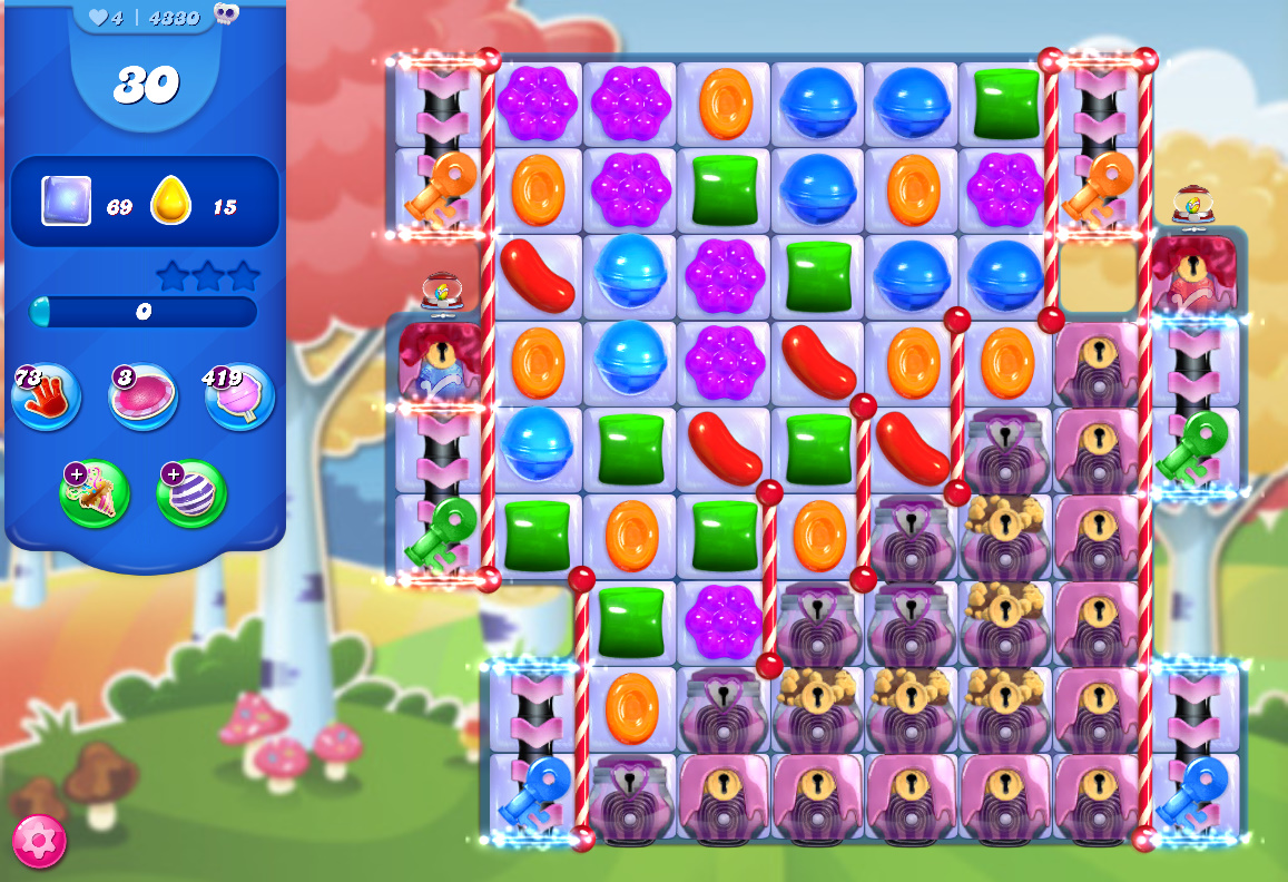 Candy Crush Saga level 4330