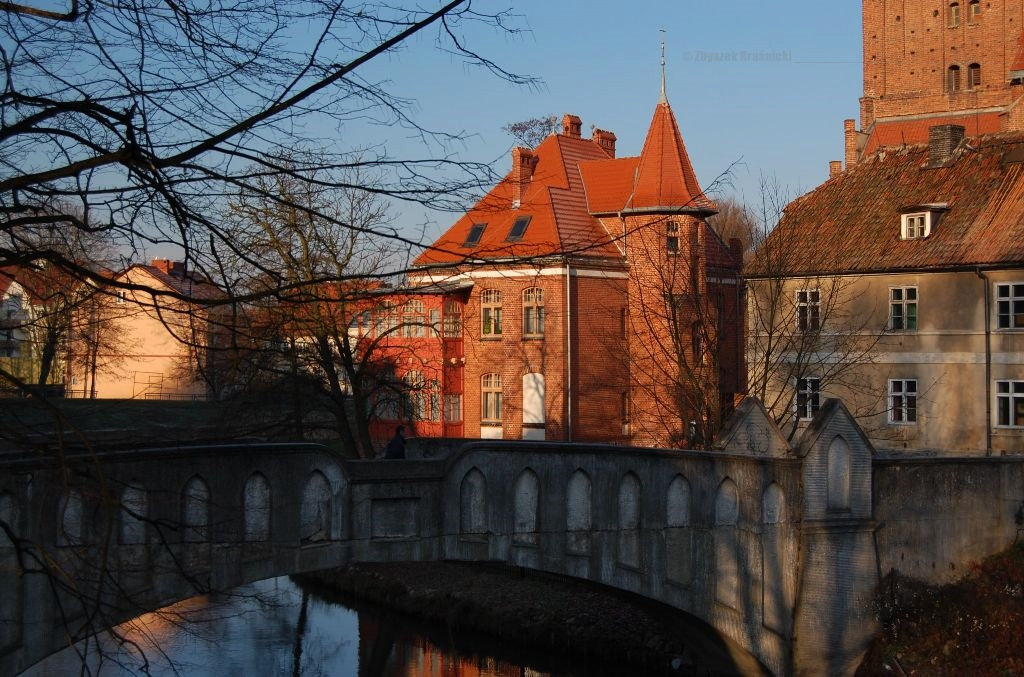 Lidzbark Warmiński, most Kopernika